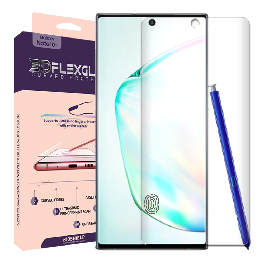 Full coverage 6H 3D flexglass screen protector for Galaxy Note10/Note10+