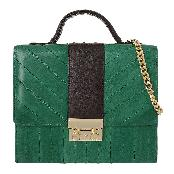 EEL Skin Square Combo Cross Bag