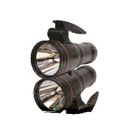 WATERPROOF FLASHLIGHT 50W RECHARGEABLE SEARCH LIGHT