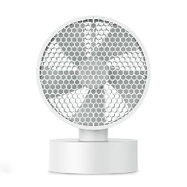 Honeycomb net desk fan - 8 inch