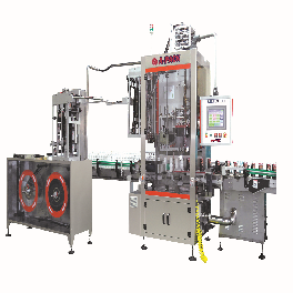Shrink Sleeve Labeling Machine,Tear Tab Cap Sealing Machine, Shrink Steam & Heat Tunnel