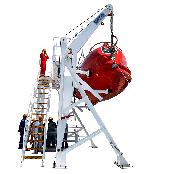 Conventional Lifeboat davit