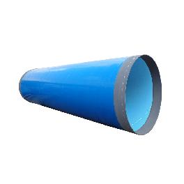 Coated steel pipe