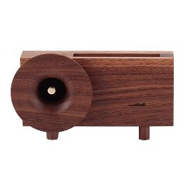[Ollim-Nemo Series / KB01] Wooden Powerless Sound Amplifier Speaker & Phone Stand for Smartphone