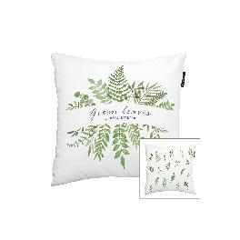 SANGSANGHOO Cushion cover - Green Leaves series - Home Décor Decorative for Sofa Chair Bedroom