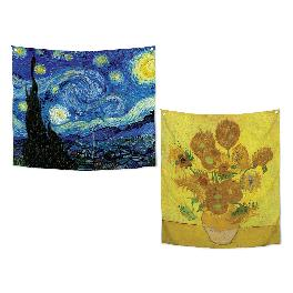 SANGSANGHOO Gogh Series_Tapestry [150*130cm] - for Decorating Shading Darkening Window