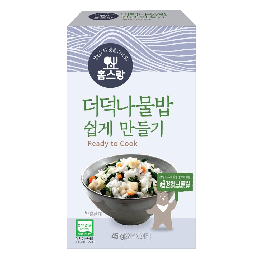 Simple Easy Fast home Food Codonopsis ianceolata Namul Bap Dry-90*50*155mm(45g)