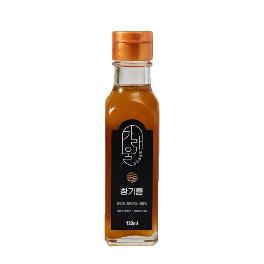 Korean Pure Sesame Seed Oil Unrefined 100% Natural Cold Pressed 4oz /10.1oz