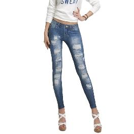 MISM Jeggings for Women Pull-On Denim Printed Skinny Stretch Jean Leggings (1053 american Dream)