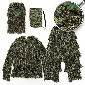 LOVAT YOWKA GHILLIE SUIT for Perfect Camouflage GREEN