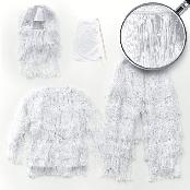 LOVAT YOWKA GHILLIE SUIT for Perfect Camouflage white