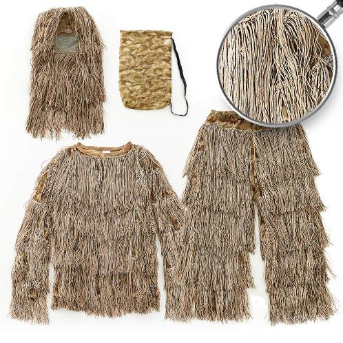 LOVAT YOWKA GHILLIE SUIT for Perfect Camouflage Desert color | Gilie suit,camouflage suit ,military,sniper's camouflage suit,toy