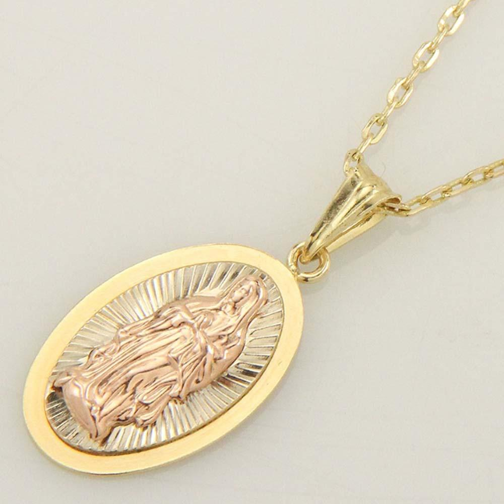 [ALLBRILLE] 14K gold Holy Mary Necklace (42cm)