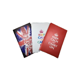 KEEP CALM AND CARRY ON Compact and stylish style  Memo pad