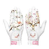 BLACK LEVEL Women Luxury Golf Gloves for Both Hands Cabretta Leather Lady Golf Glove Bambi