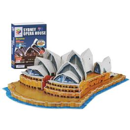Educational Creative Toy DIY 3D Paper Kit Children Game Sydney Opera House