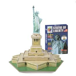 Educational Creative Toy DIY 3D Paper Kit Children Game Statue of Liberty
