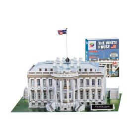 Educational Creative Toy DIY 3D Paper Kit Children Game White House