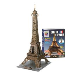 Educational Creative Toy DIY 3D Paper Kit Children Game Eiffel Tower