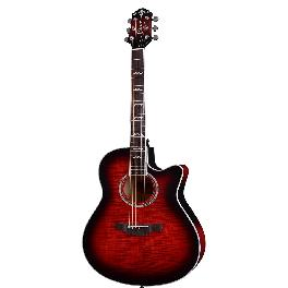 "Crafter Small Jumbo (AE) Acoustic Guitar Maple Body 25.5"" NOBLE"