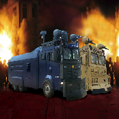 ANTI-RIOT VEHICLE WATER CANNON VEHICLE / TRUCK (TITAN)