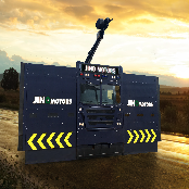 ANTI-RIOT VEHICLE MULTI-FUNCTIONAL BARRICADE VEHICLE / TRUCK (REX)