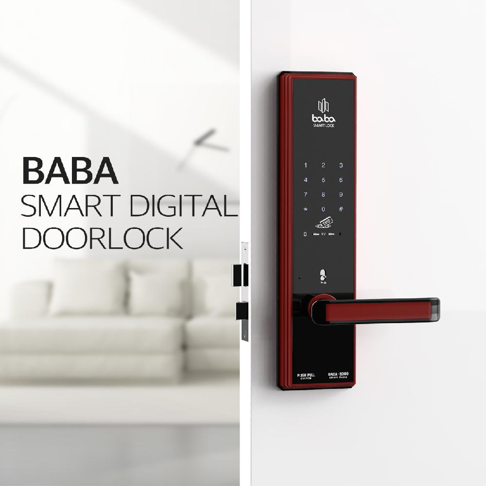 BABA SMART DOOR LOCK 8300