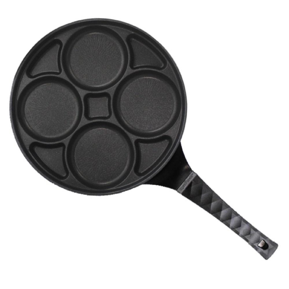 Chefway Queensense Moa 4-Hole IH Circle Eggpan Induction Compatible Pan Non-Stick Effect