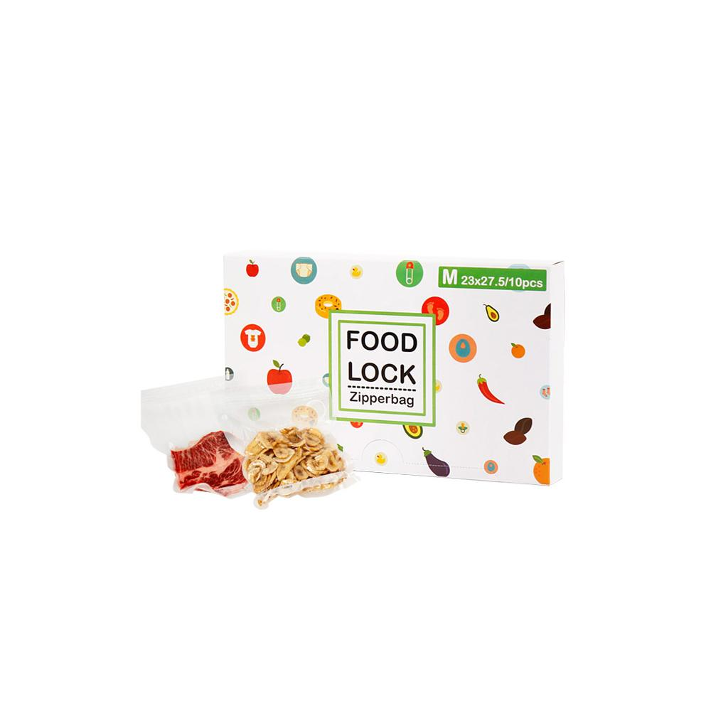 FOOD LOCK  Zipperbag Mx10ea