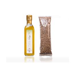 Jeong Jun Ho Conscience Fresh Perilla Oil +Fresh Perilla Seed flour