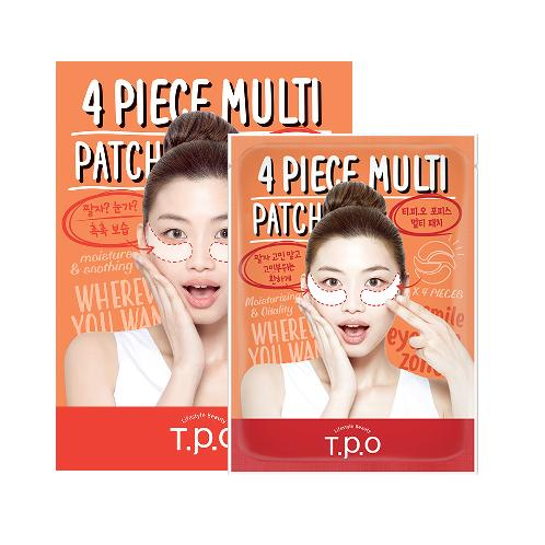 T.P.O 4 Piece Multi Patch | patch, multi patch, moisturizing,  special care
