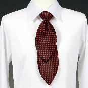 Multi-directional double-sided tie (curved) This invention is a multi-pattern necktie for all ages