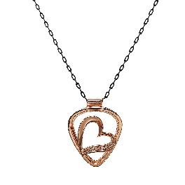 [Korean Import/Pick-Ring] HEART – A necklace to carry your music in