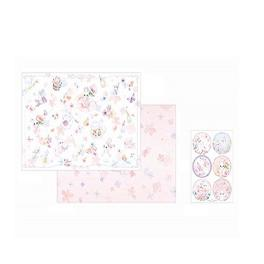 [Manet] Manet wrapping paper 40 sheets set with circular seal