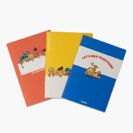 Let's Run Notebook Set (3 kinds)
