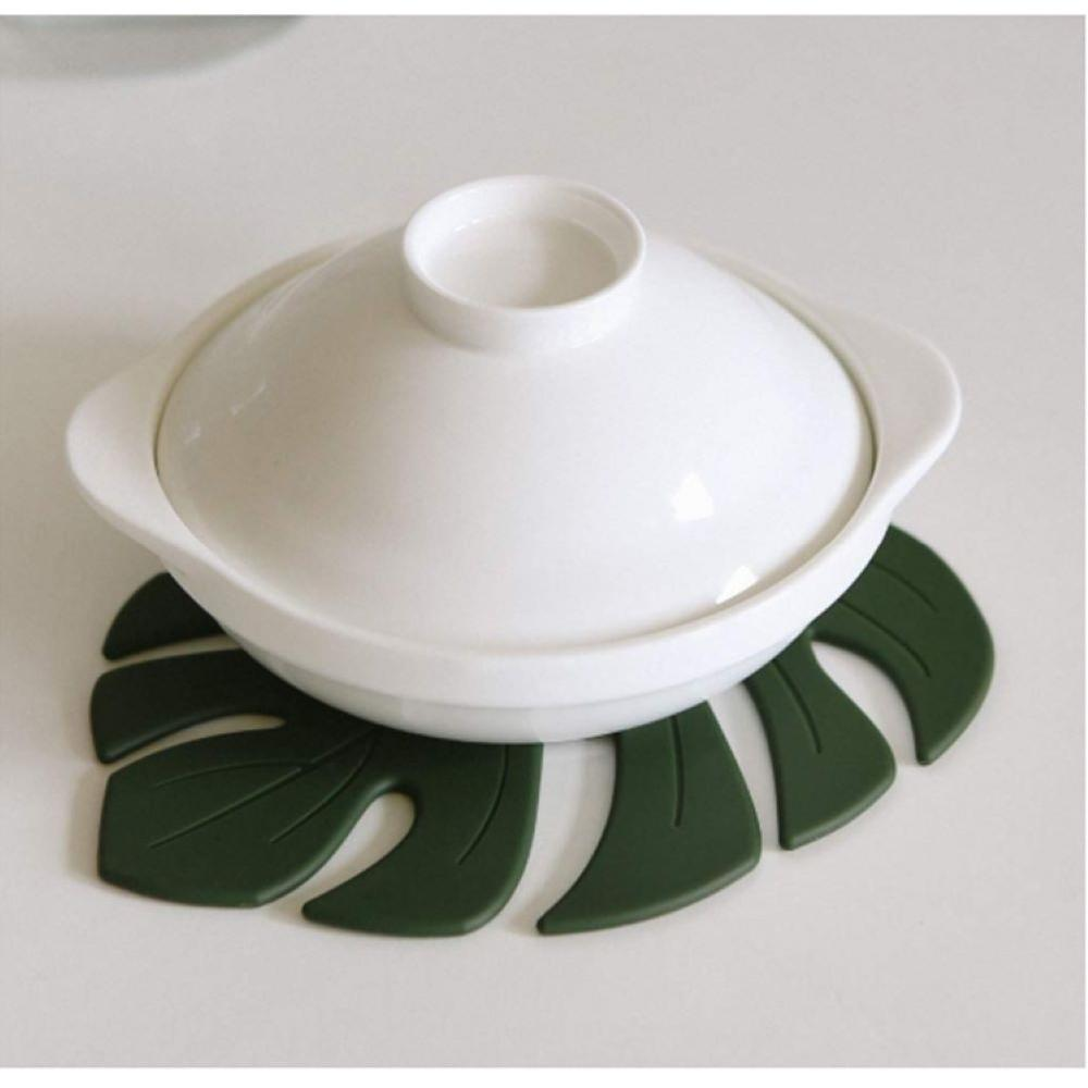 Dailylike Silicon Trivet - Monstera
