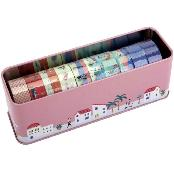 Dailylike Masking Tape 10pcs Set - A Peaceful Town