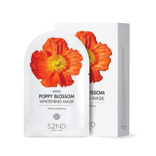 S2ND POPPY BLOSSOM Mask (3 Types) | Skin, Care, Mask, Korea, Ampoule