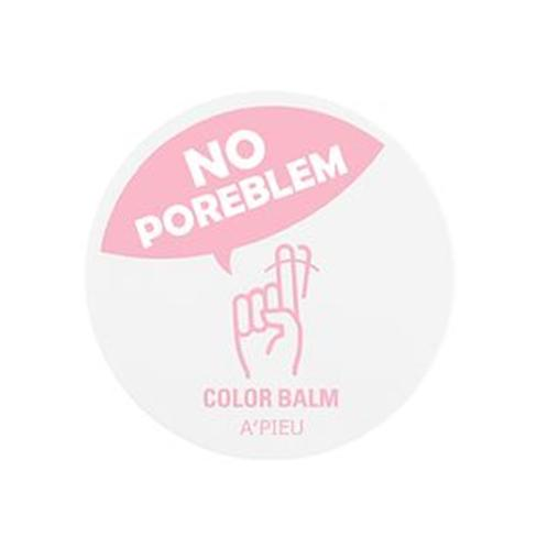 [A'PIEU] No Poreblem Color Balm 25g - BEST Korea Cosmetic | lip care, Color Balm, lip balm, pink, trouble, perfection, cover