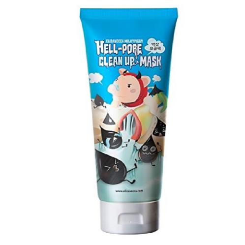 [ELIZAVECCA] Hell-Pore Clean Up Mask 100ml - BEST Korea Cosmetic | skin, flawless, toner, lotion, essence, powder, cosmetic, soothing, moisturizing, naturally, anti-aging, youthful