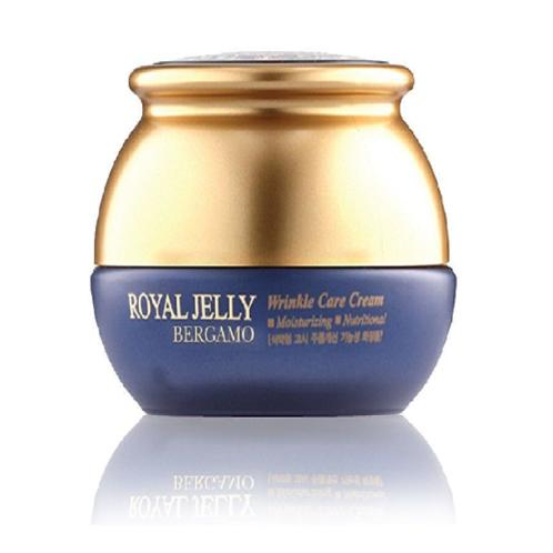 [BERGAMO] Royal Jelly Wrinkle Care Cream 50g - BEST Korea Cosmetic | Jelly, Wrinkle Care, Cream, day care, skin care, night care, soothing, purifying