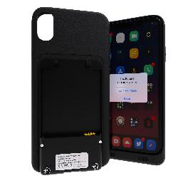 [ANTIOFF] Battery Case for iPhone Xr ANTIOFF (DCA Series), It can use a battery to charge.