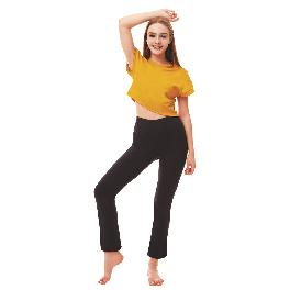 Yoga costume Annette Round hip Wide Pants
