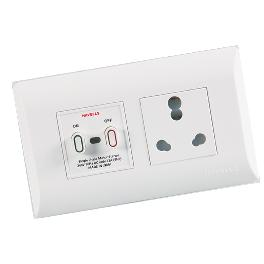 LED Push outlet
