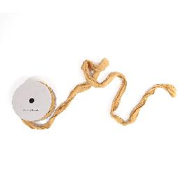 Angel Hair Ribbon Vintage Curl Frayed Edge High-Quality Wrapping Ties - Bettany Yellow