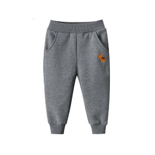 [HANSANGEL] Boys Pants_Gray (Boys Winter Fleece Lined Pants Warm Clothes for Kids) | Boys, Girls, Warm, Fashion, Dress, Cute