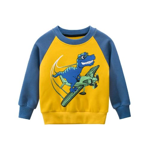 [HANSANGEL] T-shirt_ Yellow/Blue | Boys, Girls, Warm, Fashion, Dress, Cute
