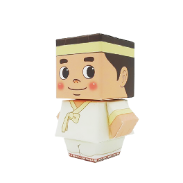 Ministyle Papertoy Korean Traditional Tales Series