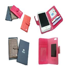 Real leather mobile phone case wallet for galaxys4,4S i phone 5 and galaxy note