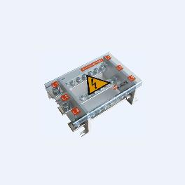 Power distribution terminal block